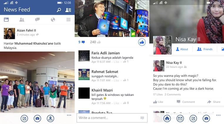Facebook Beta 5.3