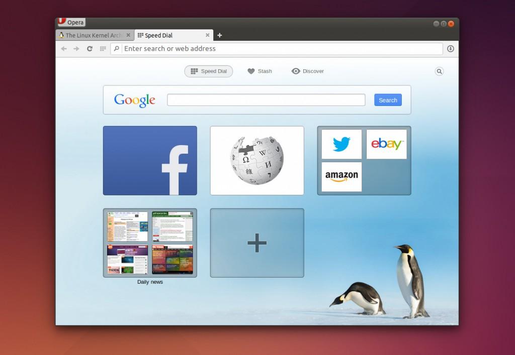 Opera Chromium Linux