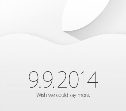 Apple 9 September