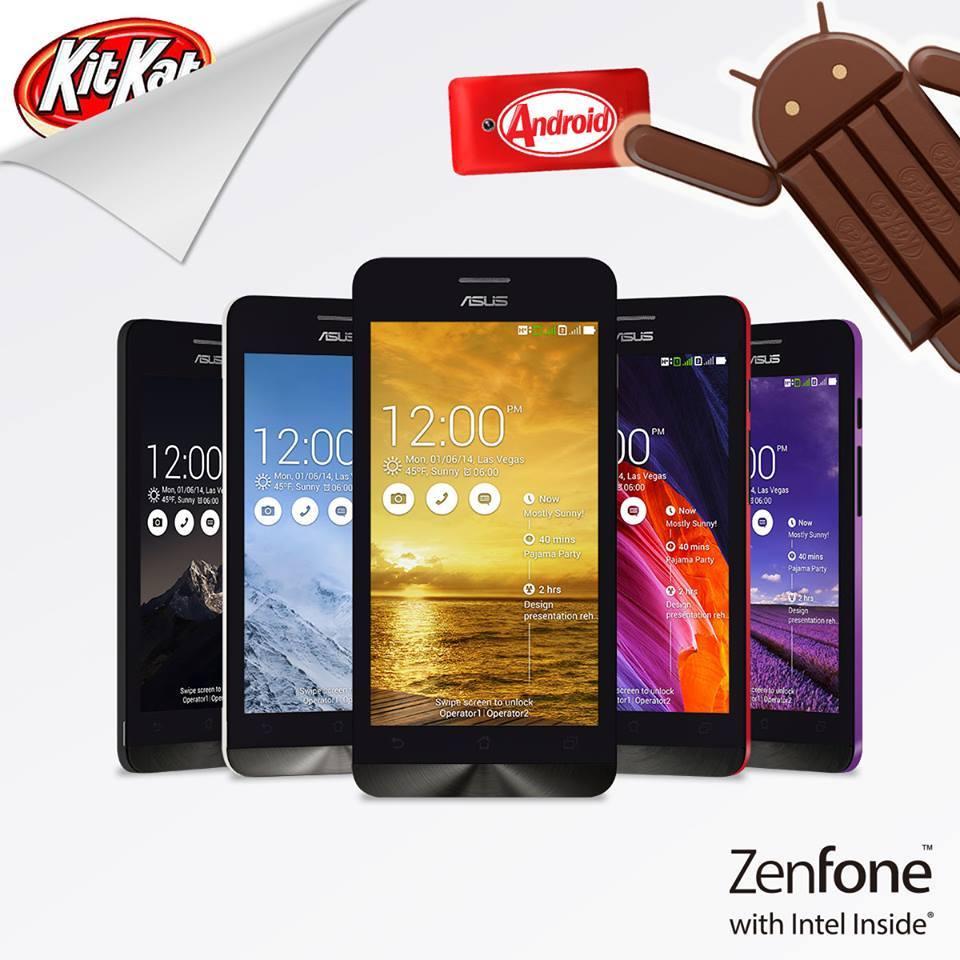 Asus Zenfone 4 KitKat