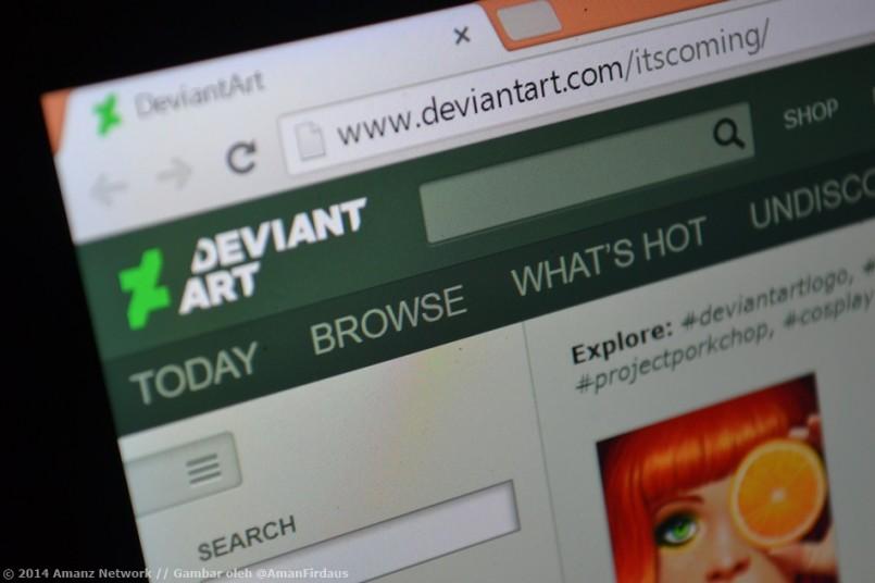 DeviantArt Memperkenalkan Logo Baru – Bakal Hadir Dengan Aplikasi Android Dan iOS