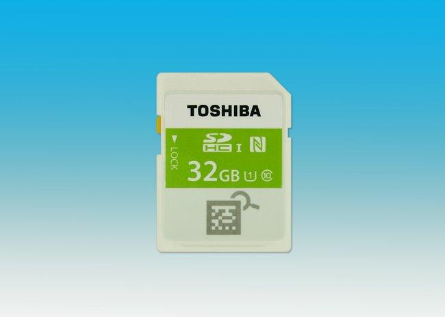 Toshiba Memori NFC