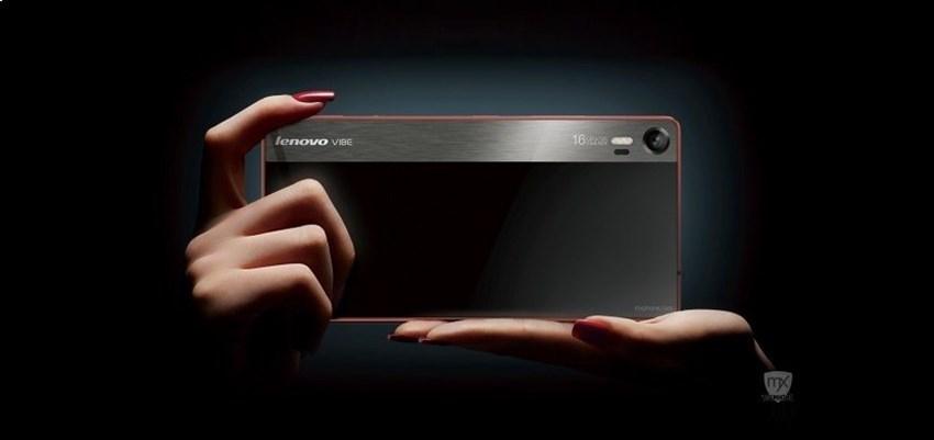 Lenovo Vibe Shot Telefon Memfokuskan Kamera Daripada