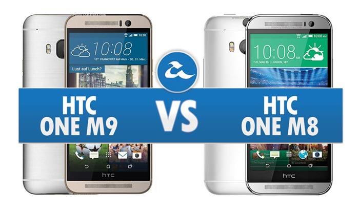 Perbandingan HTC One M9 & HTC One M8