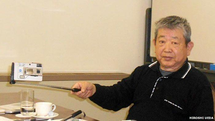 Hiroshi Ueda Pencipta Kayu Selfie