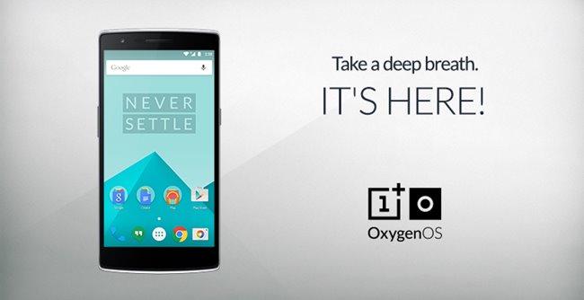 OnePlus Oxygen