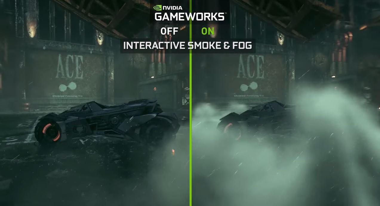 Nvdiaoi Gameworks Batman