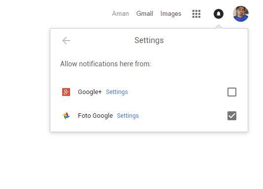 Notifikasi Google