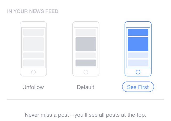NewsFeed See First