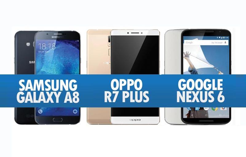 Perbandingan Samsung Galaxy A8 Oppo R7 Plus Amp Google