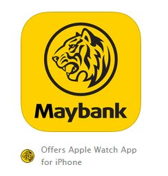 Maybank AppleWatch