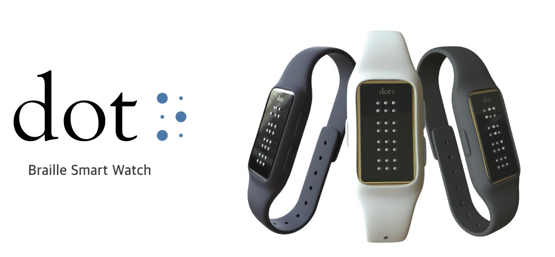 Dot-Braille-Smart-Watch
