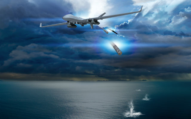 MQ9 Guardian dron