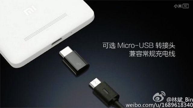 Xiaomi mi4c usb-c 2