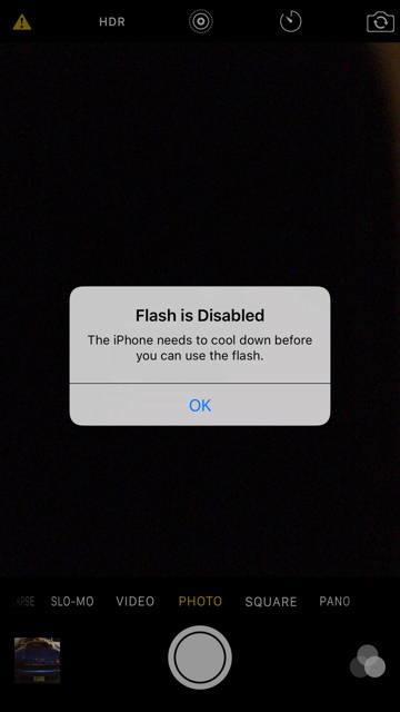 iphone 6s panas