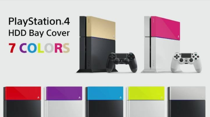 PlayStation 4 Warna