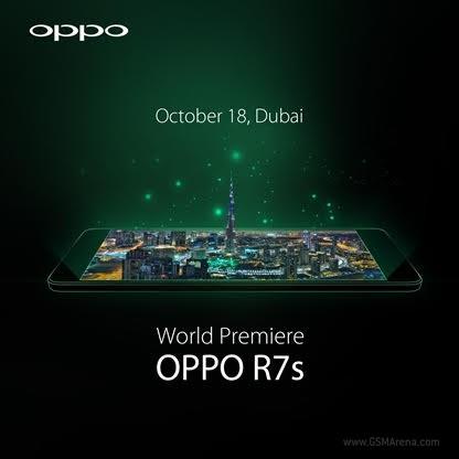 Oppo R7S Dubai