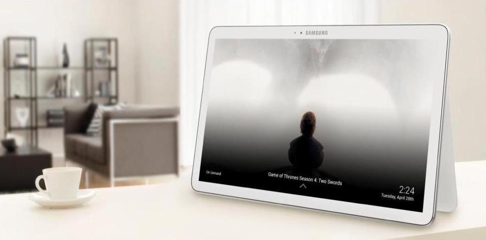 Samsung Galaxy View advert 1