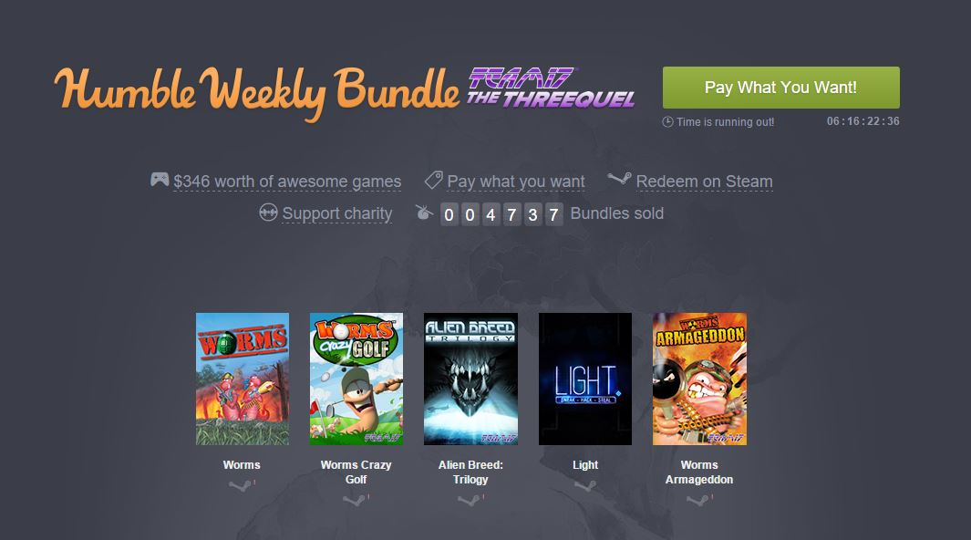 Humble Bundle Team 17