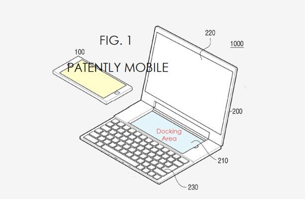 Samsung Mepatenkan Telefon Yang Mampu Berubah Menjadi Komputer Riba