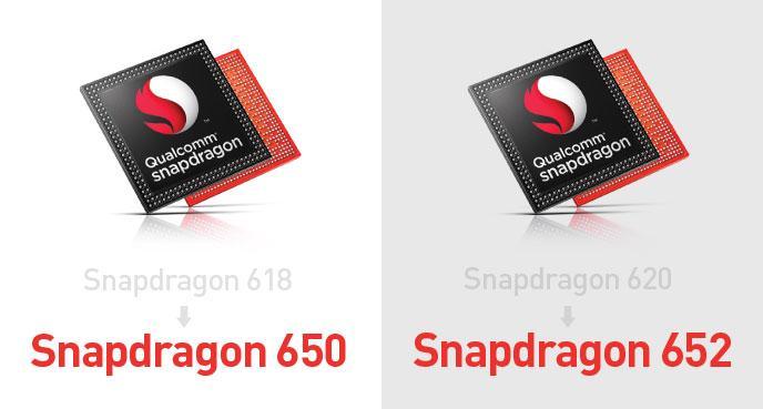 Snapodragon 650 652