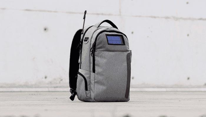 Lifepack – Beg Komputer Riba Dengan Power Bank Berkuasa Solar Terbina