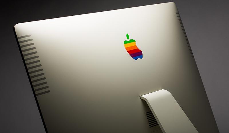 Retro Apple iMac – iMac 27″ Dengan Rekaan Apple II