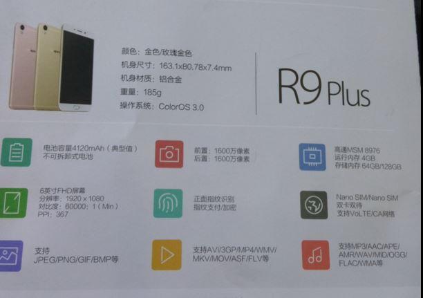 Oppo R9 R9 Plus 3