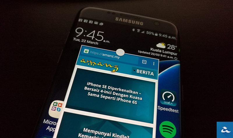 Android N Mempunyai Mod Aplikasi Tetingkap Seperti Samsung TouchWiz