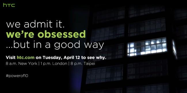 HTC 10 12 April