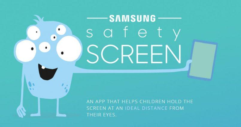 Aplikasi Samsung Safety Screen Mengajar Kanak-Kanak Jarak Terbaik Menggunakan Peranti