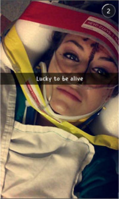 Snapchat Sama Kemalangan