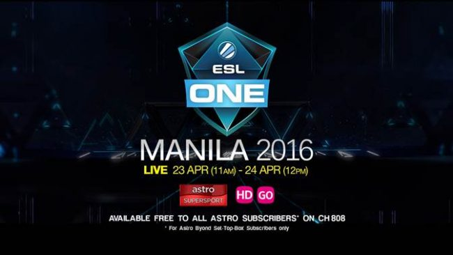 ESL ONE Manila 2016 LIVE