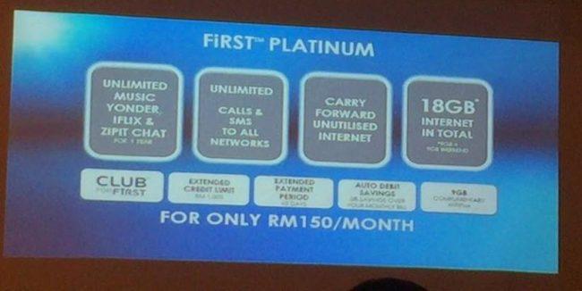 Celcom First Platinum