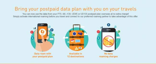 U Mobile Data Roaming