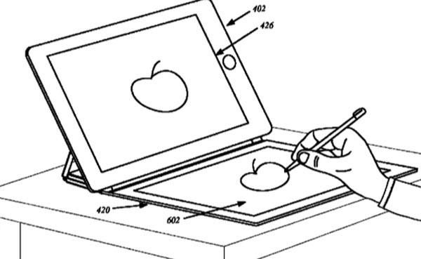 Apple Menerima Paten Smart Cover Dengan Skrin Tambahan Dan Panel Lakaran Stylus