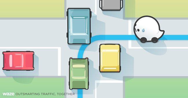 Waze Persimpangan Sukar