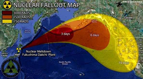 Fukushima radiasi