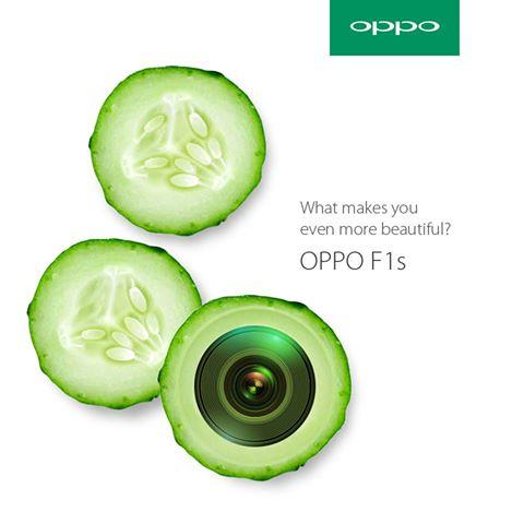Oppo F1S teaser 2