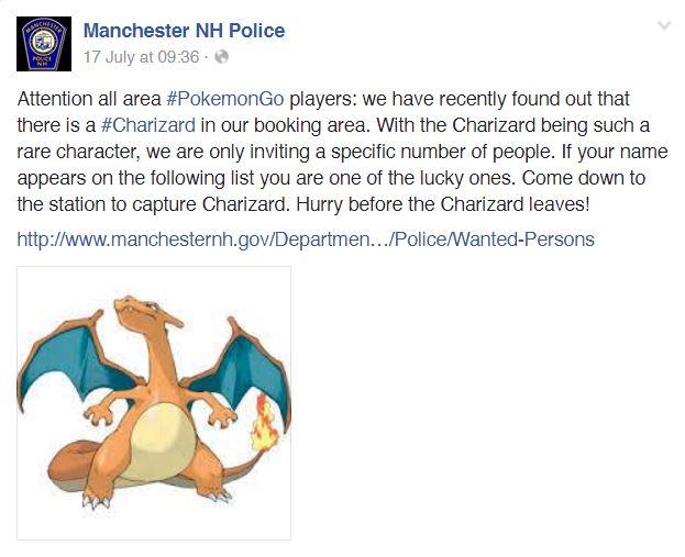 Pokemon Go Polis 1