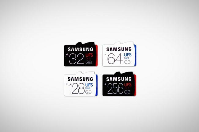 Samsung Kad Memori UFS