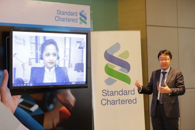 Standard Chartered Video Banking