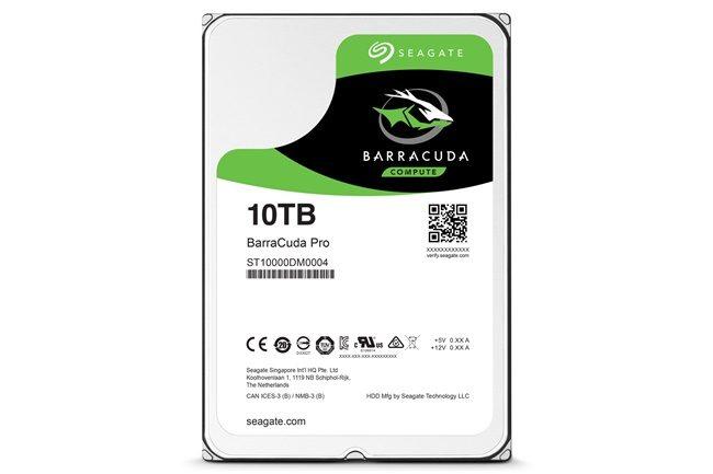 Seagate 10TB Barracuda Pro