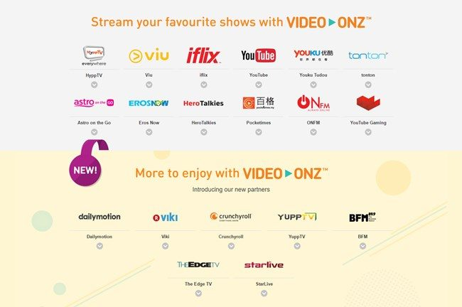 UMobile Video-Onz