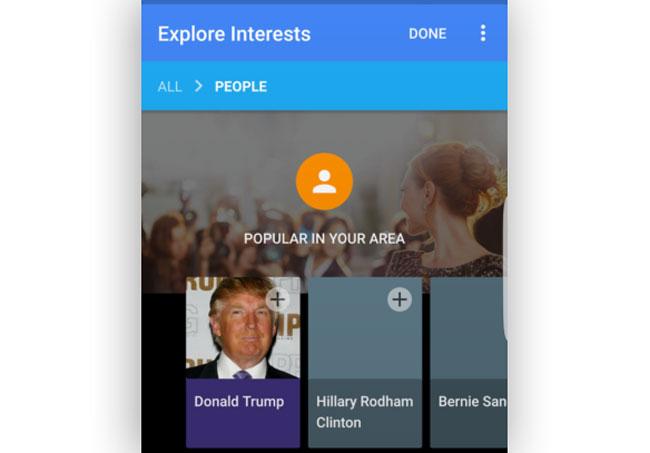 Explore Interests Diperkenalkan Di Google Now Untuk Memudahkan Mengikuti Topik Kegemaran