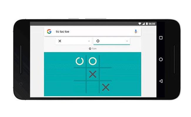 Solitaire Dan Tic Tac Toe Boleh Dimainkan Dari Carian Google