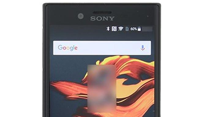 Rekaan Sony Xperia X Compact Tertiris