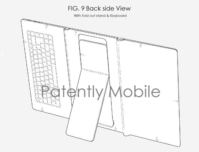 Samsung Dianugerahkan Paten Tablet Boleh Lipat Dengan Tetongkat Terbina