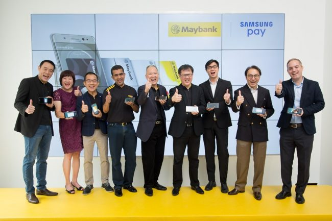 Maybank Samsung Pay