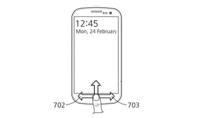 Samsung Mepatenkan Sistem Melancarkan Aplikasi Menggunakan Pengimbas Cap Jari